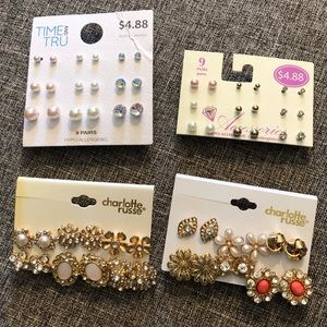 Lot of 30 Sets of Earrings